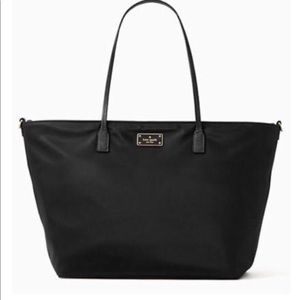 KATE SPADE Blake Avenue Margareta Black Nylon Tote